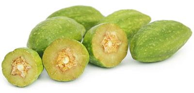 Terminalia Chebula Fruit, andere naam voor Haritaki , de exotische Zuid-Aziatische struik