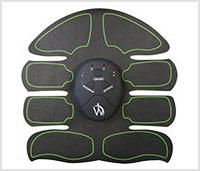 Zwarte buikspieren stimulator apparaat van WeightWorld