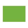 Een wit tekstvakje met groene rand en groene tekst en een wit tekstvakje met alleen een groene rand (zonder tekst)
