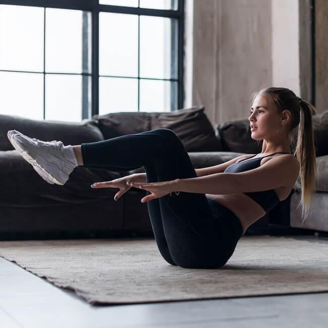 Top 5 oefeningen om thuis te doen