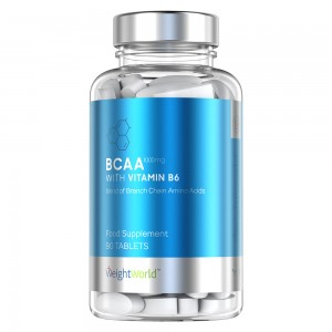 BCAA met B6 Tabletten - Aminozuur Spieropbouw Supplement - WeightWorld - 90 Tablets