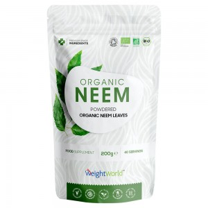Bio Neem Powder - Organic Detoxifying Plant-Based Immunity Support Powder - 200G