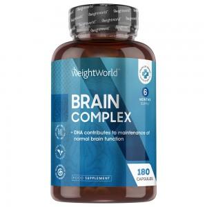 Brain Complex - Mentale Prestaties Supplement met Brein Vitaminen - 180 Capsules