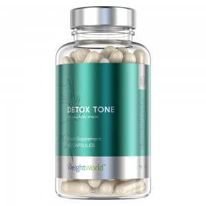 Detox Tone - Natuurlijk Detox Supplement - 60 Capsules - Ontgiften