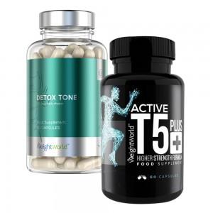 Active T5 & Detox Tone - Gewichtsverlies - Detox - Combo