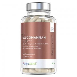 Glucomannan met Chromium B6 - Effectieve Eetlust Onderdrukking