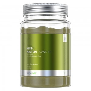 Hennep Proteïne Poeder - 500g - Spier Prestaties Supplement