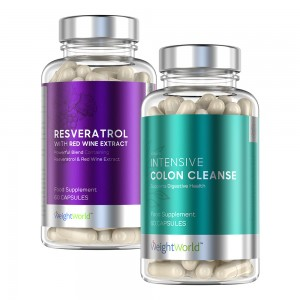 Resveratrol & Intensive Colon Cleanse - Superfood en Reiniging