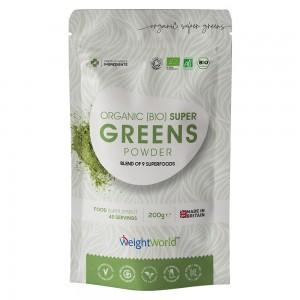 Biologische super groene poeder - Krachtig, natuurlijk superfood gewichtsbeheersing en vitaliteitspoeder - 200g