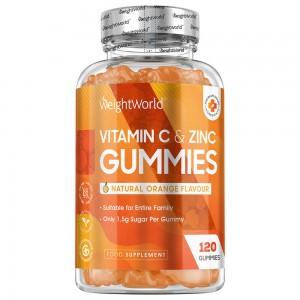 Vitamine C & Zink Gummies  - WeightWorld