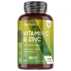 Vitamin C & zink capsules